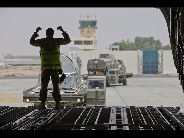 Air Load Team in the Middle East Region