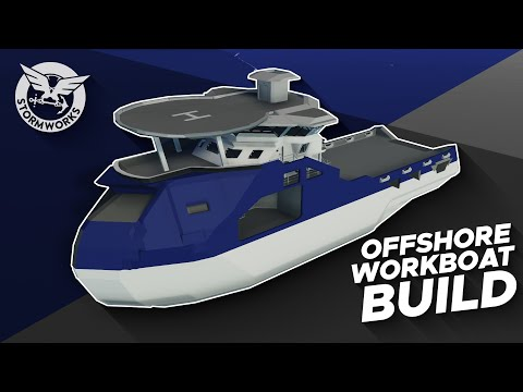 Offshore Workboat Build Timelapse - Part 2