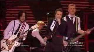 Patrik Isaksson Live Melodifestivalen 2008
