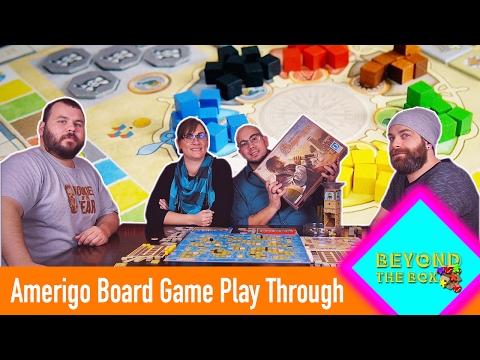 Amerigo|Board Game Play Through|Beyond The Box Ep.11