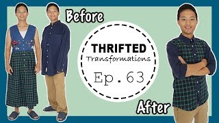 Boyfriend Transformation! | Thrifted Transformations Ep. 63 Ft. @KenAndrewDaily