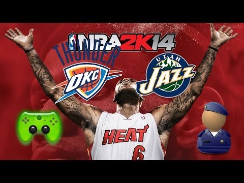 NBA 2K14 # 2 - Oklahoma City Thunder VS. Utah Jazz «» Let's Orakel NBA 2K14| HD
