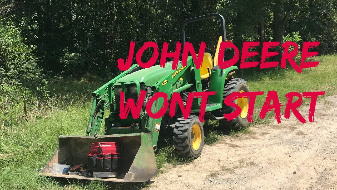 John Deere 4200  4300  4400 Thermistor   Tractor Failing to Start  How To Repair