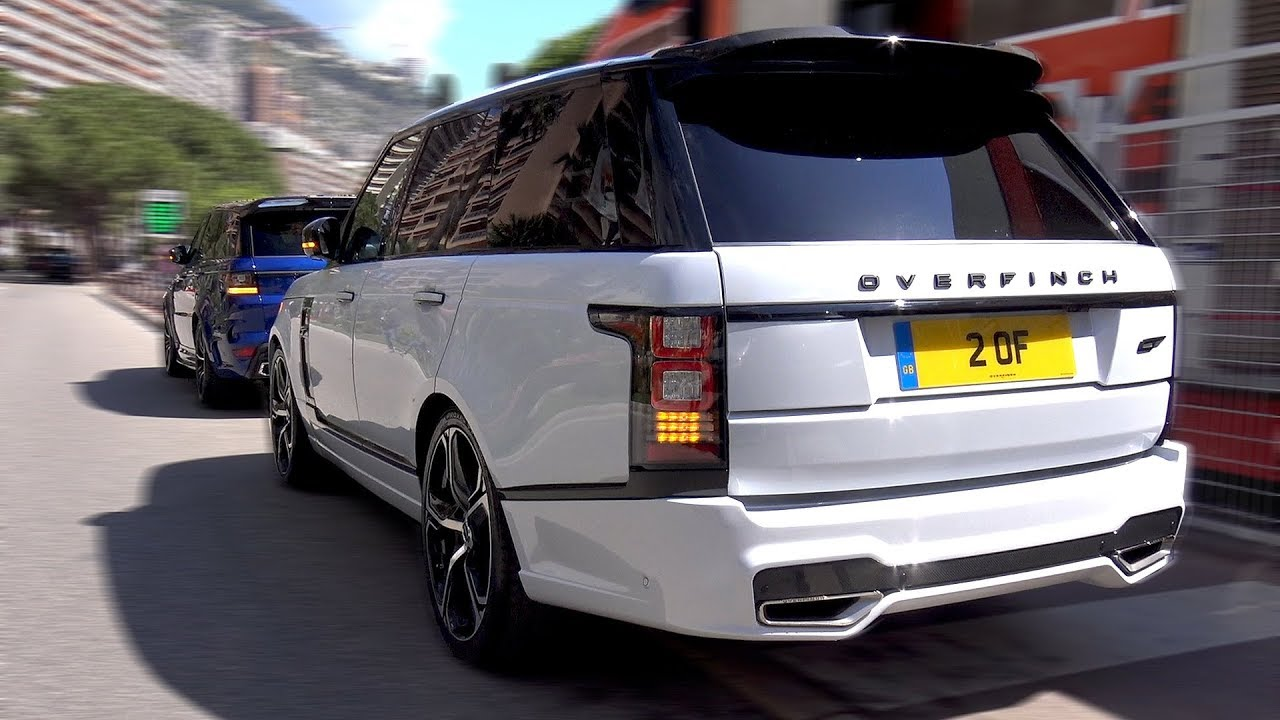 Land Rover Overfinch Range Rover Gt Loud Revs Youtube
