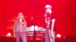 16 yo Girl kills the stage with Logic on Gang Related in the Netherlands