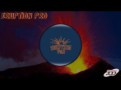 Columbia 300 Eruption Pro Blue bowling ball review by Average Joe Reviews