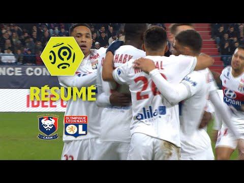 SM Caen - Olympique Lyonnais (1-2)  - Résumé - (SMC - OL) / 2017-18