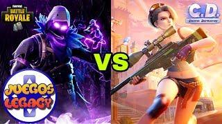 ¿Cual Es El Mejor Battle Royale? Fortnite VS Creative Destruction
