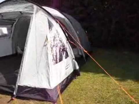 Vango Icarus 400 Tent In High Wind Funnydog Tv