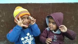 Harpit And Bhavishya   Playing Children   HD videos For Kids   Baby Videos  