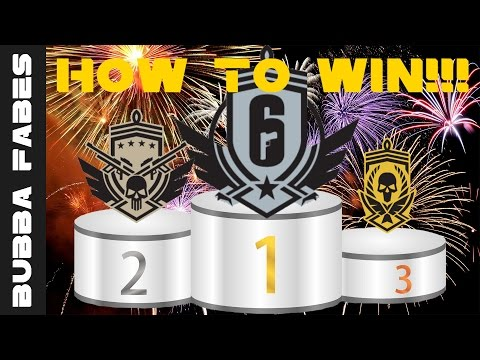 Guide To Winning Ranked Games | Rainbow six siege Tips and tricks