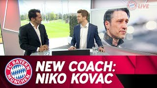 Confirmed! Niko Kovač Takes Over as FC Bayern Head Coach in the Summer! | #FCBayernTVlive