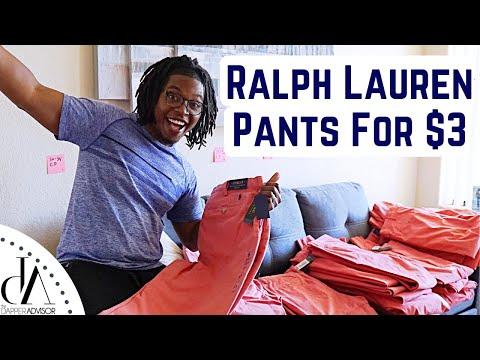 NEW POLO RALPH LAUREN PANTS FOR $3 | Dillard's 90% Off Sale!