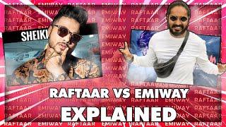 Raftaar Vs Emiway Bantai Fully Explained | Emiway Bantai Final Reply |  Khatam | Giraftaar
