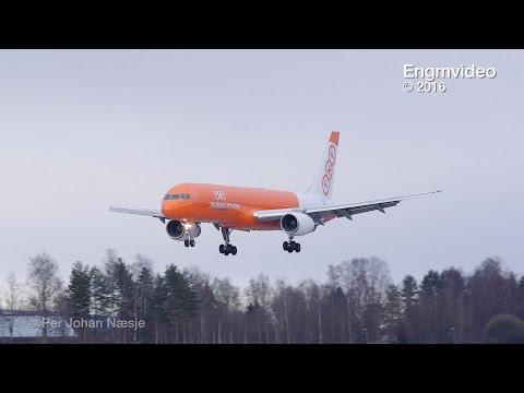 TNT Airways B752 at Oslo Airport Gardermoen