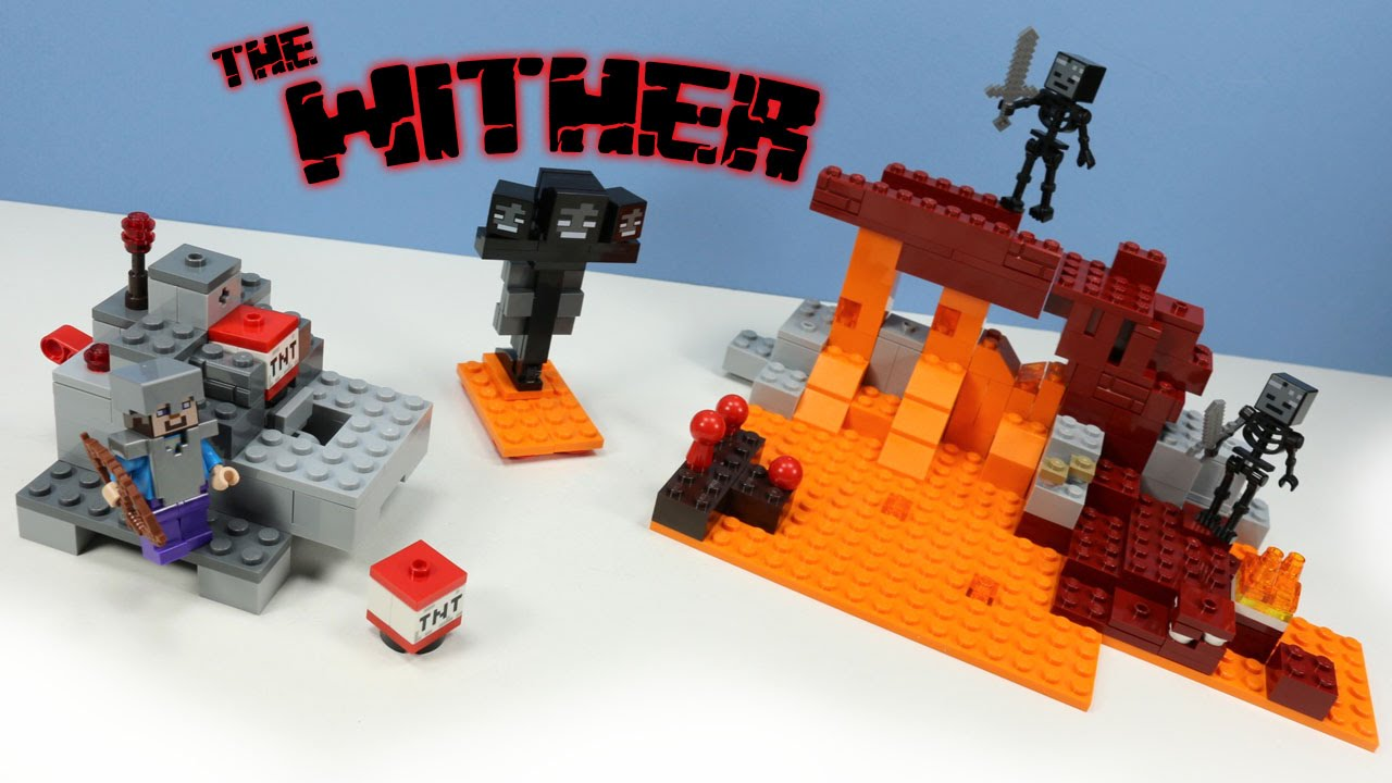 Lego Minecraft The Wither Set 21126 Build And Review Youtube