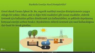 Yenilenebilir Enerji Dersi - Biyokütle Enerjisi Sunumu