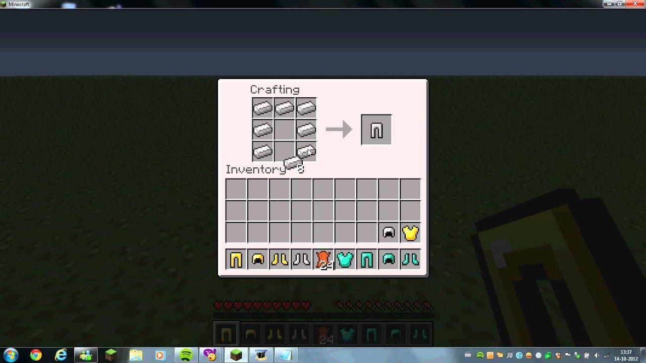 Hoe maak je een pak van diamant goud ijzer en leer op minecraft - Hoe je een eigentijdse inrichting van ...