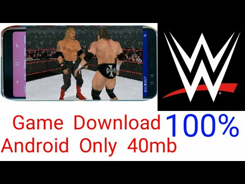 WWE Game For Android In Only 40mb.WWE SmackDown Vs Raw 2008 (NDS) Download. For Every Mobile Phone