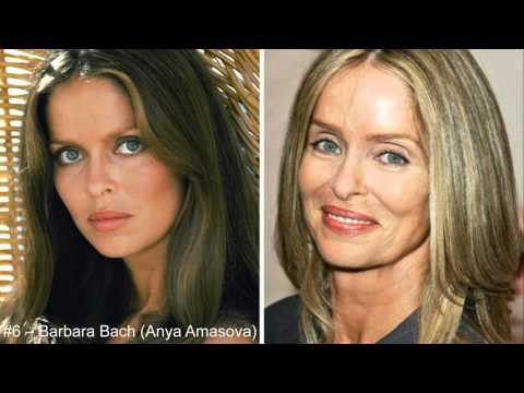 16 Bond girls Then and now