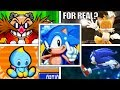 Evolution Of DELETING SAVE FILES In Sonic The Hedgehog Games (1993-2018) Genesis, PC, Wii 3DS & More
