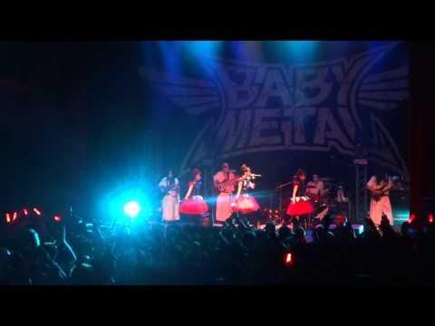 Babymetal - Cigale, Paris, 01/07/2014