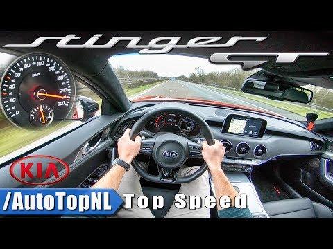 Kia Stinger GT 3.3 V6 AWD AUTOBAHN POV ACCELERATION TOP SPEED 270km h by AutoTopNL