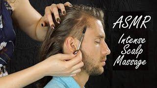 ASMR Intense Scalp Massage Sounds & Spoolie Combing – The Return of Ryan w/ Corrina Rachel