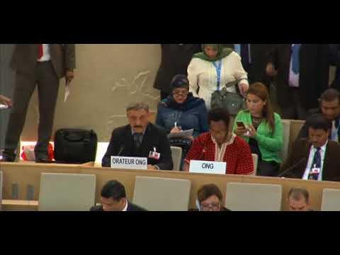 36th Session Human Rights Council - General Debate Item 5 - Mr. Mutua K. Kobia