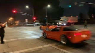 ILLEGAL STREET RACERS -  500HP+ Racers Hide From COPS All Night #6 - FNF