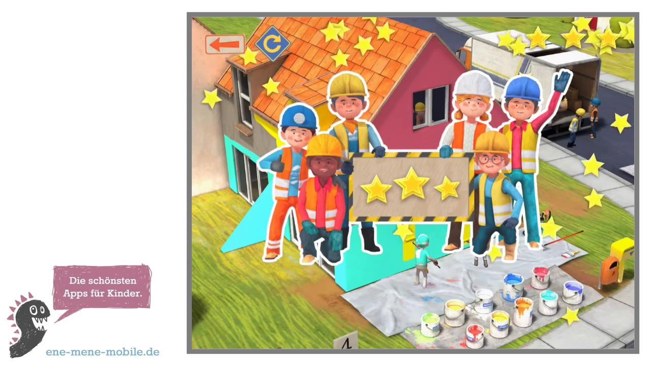 Lustige Spiele App Für Kinder Kleine Bauarbeiter App Vorschau
