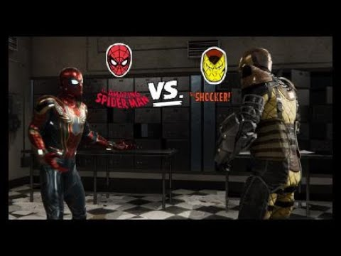 Spider Man Ps4 Spider Man Vs Shocker Fond D Ecran