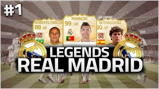 FIFA 15 | LEGENDS REAL MADRID #1