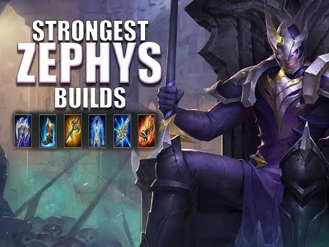 Strongest Zephys Build Arena Of Valor Guide Tips