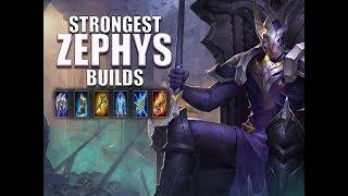 Video Strongest Zephys Build - Arena of Valor - Guide - Tips download MP3, 3GP, MP4, WEBM, AVI, FLV November 2018