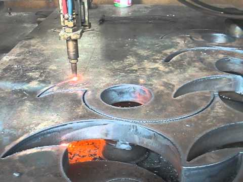 CNC- Plasma Oxy-Gas cnc - the first product 3