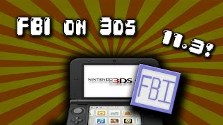 How to install legit cia on a 3ds 11.3! or lower!
