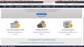 Tạo một con ElastichSearch trên AWS