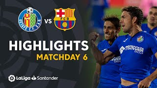 Highlights Getafe CF vs FC Barcelona (1-0)
