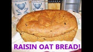 Raisin Oat Bread On A Cold Winter's Day