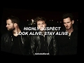 Highly Suspect - Look Alive, Stay Alive (Lyrics + Letra en Español)
