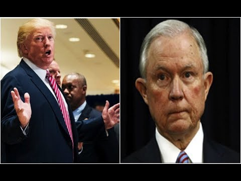 PRESIDENT TRUMP CALLS ON AG SESSIONS TO STOP RIGGED WITCH HUNT NOW!