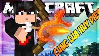 Oops Zeros Minecraft SKYWARS: CUNG LỬA HỦY DIỆT