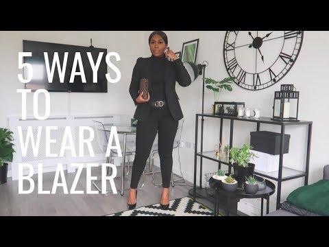 5 Ways To Wear A Blazer