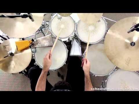 Drum Play-along - Damas Cha Cha Cha