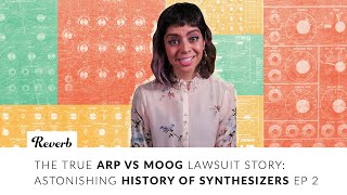 The True ARP vs MOOG Lawsuit Story: Astonishing History of Synthesizers EP 2