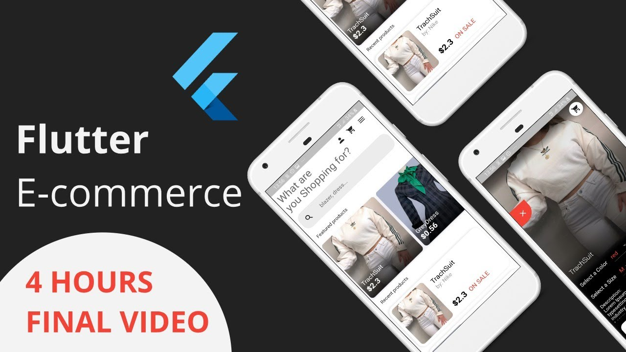Flutter E Commerce App Final Video