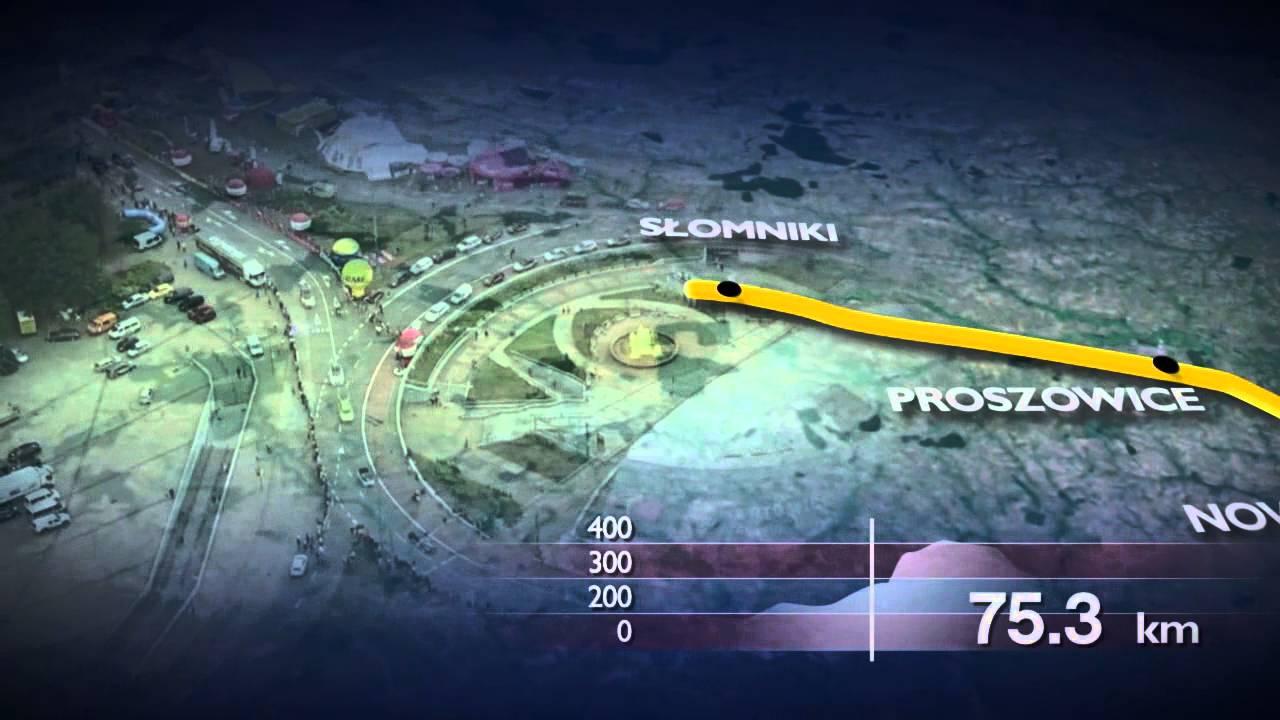 Zobacz trasę 71. Tour de Pologne!