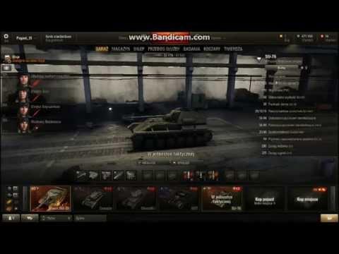 World of Tanks #1 SU-76 , Churchill I ( Gość /STV )