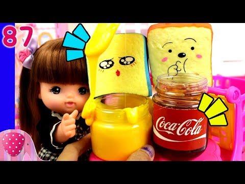 Bekal Sekolah Nene dan Yuka dengan Selai Slime - Squishy Dares - Mainan Boneka Eps 87 GoDuplo TV